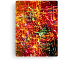 phone case lights Canvas Print