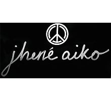 Jhene Aiko Logo Photographic Print