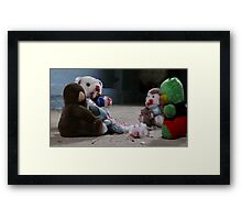 Dahmer's toys are acting up... Framed Print