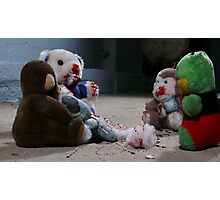 Dahmer's toys are acting up... Photographic Print