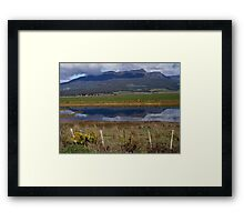 photoj Tasmania Mt Roland Framed Print