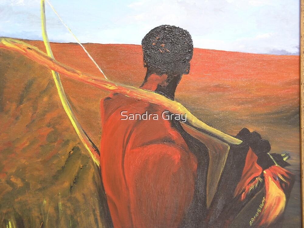Looking Back by Sandra Gray