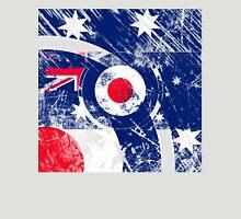 Grunge Mod Target Roundel Australia Unisex T-Shirt