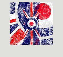 Grunge Mod Target Roundel Union Jack Unisex T-Shirt