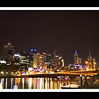 Melbourne by Night by YannB