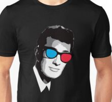 Buddy Holly 3D Glasses Unisex T-Shirt