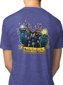 May the Stars Guide You - Boomkin Tri-blend T-Shirt