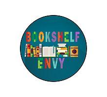 Shelf Envy, black border by BookConfessions