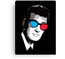 Buddy Holly 3D Glasses Canvas Print
