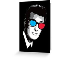 Buddy Holly 3D Glasses Greeting Card
