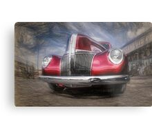 Red Ford Truck Metal Print