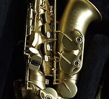 Saxophone detail by stevelink