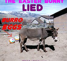 Burro Eggs: the Easter Bunny LIED! by wildassshirts