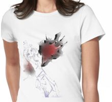 Willow Wings Angel Womens Fitted T-Shirt
