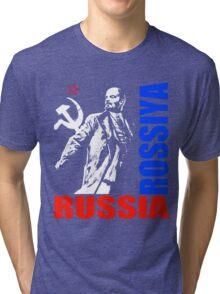 LENIN-ROSSIYA Tri-blend T-Shirt