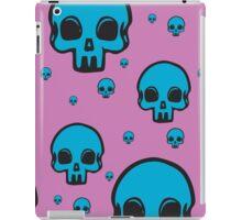Blu Skull iPad Case/Skin
