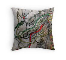 Untitled-3 Throw Pillow