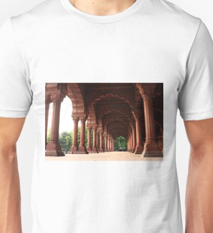Engrailed Arches Red Fort - New Delhi Unisex T-Shirt