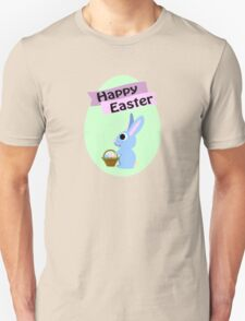Happy Easter Blue Bunny T-Shirt