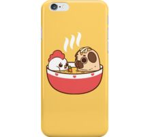 Chicken Noodle Puglie iPhone Case/Skin