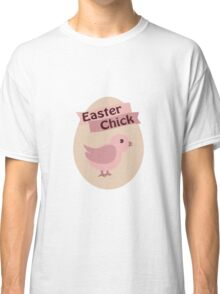 Pink Easter Chick Classic T-Shirt