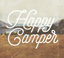 HAPPY CAMPER by cabinsupplyco