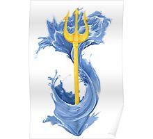 Poseidon Trident Poster