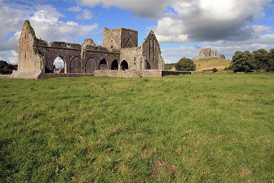 Rock of Cashel from Hore Abbey 1 by John Quinn