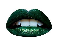 Green Lips by Padme Nowland