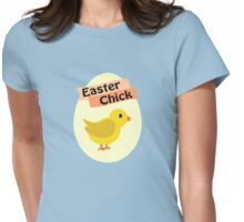 Cute Yellow Easter Chick Womens Fitted T-Shirt
