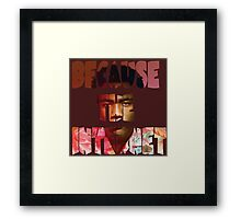 Childish Gambino Because The Internet Album Framed Print
