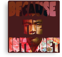 Childish Gambino Because The Internet Album Canvas Print