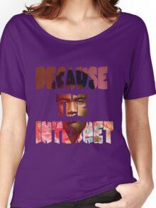 Childish Gambino Because The Internet Album Women's Relaxed Fit T-Shirt
