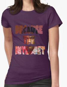 Childish Gambino Because The Internet Album Womens Fitted T-Shirt