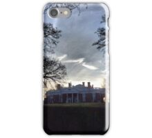 December Twilight at Monticello iPhone Case/Skin