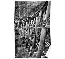 Puffin Billy Trestle Bridge Poster