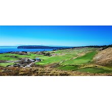 Chambers Bay Golf Links Photographic Print