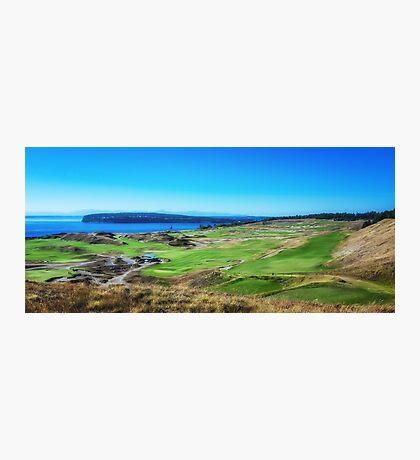 Chambers Bay Golf Links Photographic Print