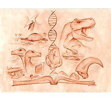 Jurassic Park - The Novel Photographic Print