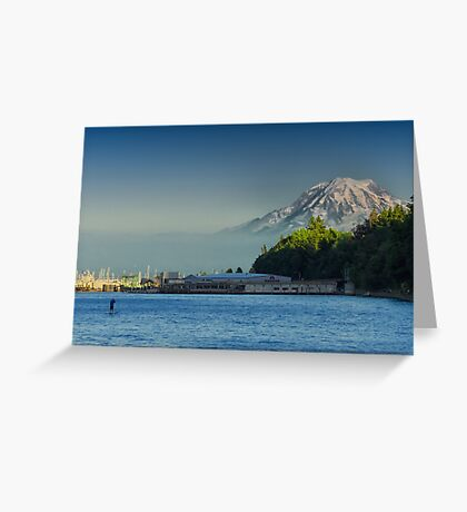 Rainer From Pt. Defiance Greeting Card