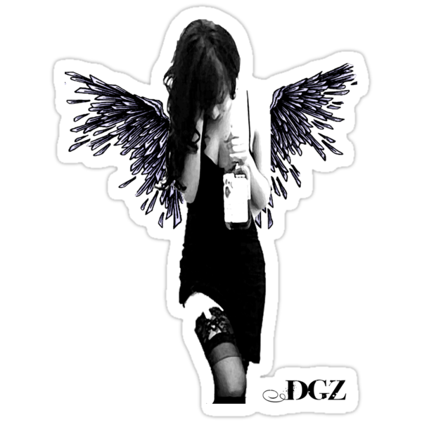 Angel Lady by Dirt Tee Shirts .