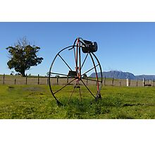 Penny Farthing Letterbox Photographic Print