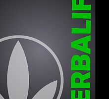 Black Herbalife Custom iPhone Case by Scott Hawkins