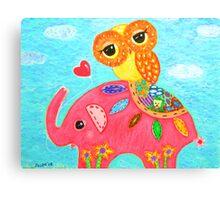 Love Is Like An Elephant Canvas Print