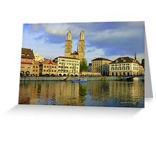 Zurich  - You Touched My Heart Greeting Card