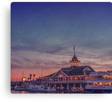 Newport California Canvas Print