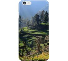 Himalayan Stepped Fields - Nepal iPhone Case/Skin