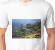 Himalayan Stepped Fields - Nepal Unisex T-Shirt