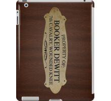 Property Of Booker Dewitt iPad Case/Skin