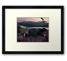 Elsewhere Framed Print